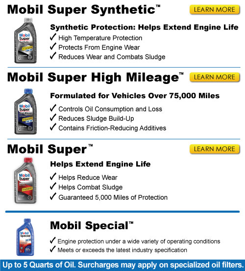 Mobil Oil Packages