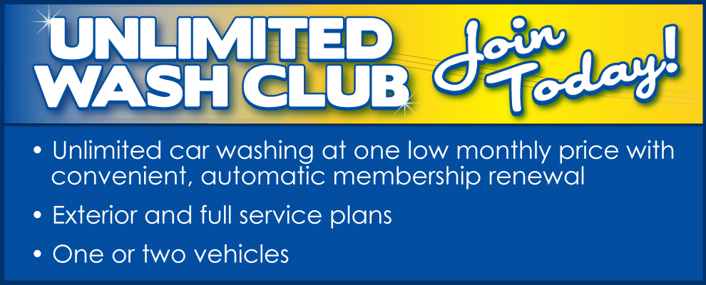 Sparkling Image Car Wash Unlimited Wash Club